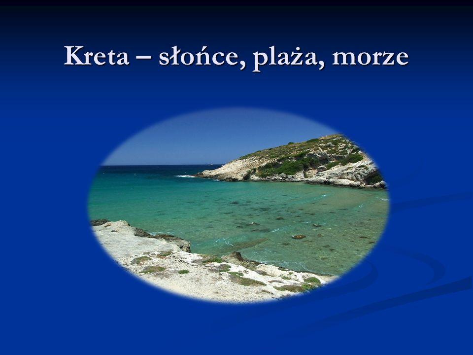 Kreta – słońce, plaża, morze