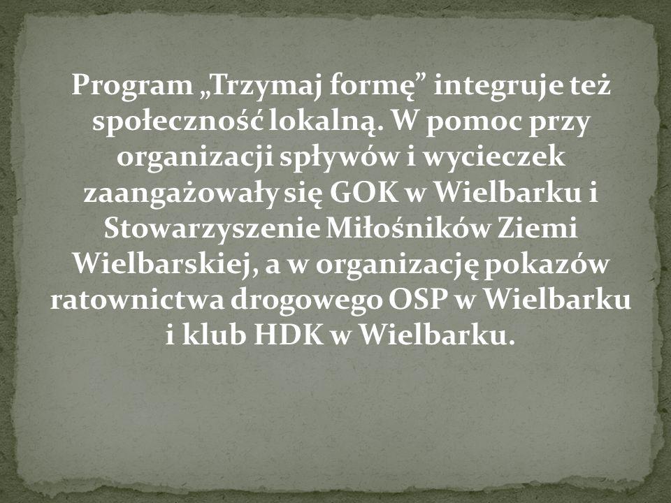 """Program """"Trzymaj formę integruje też społeczność lokalną"""