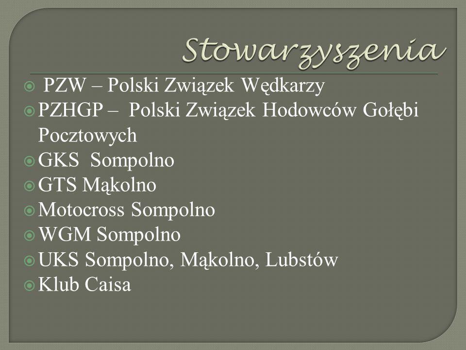 Stowarzyszenia PZW – Polski Związek Wędkarzy
