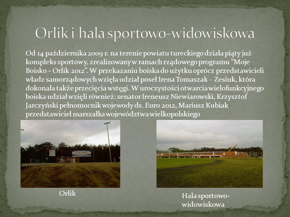 Orlik i hala sportowo-widowiskowa