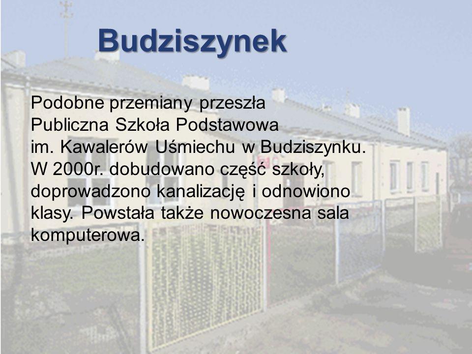 Budziszynek Podobne przemiany przeszła Publiczna Szkoła Podstawowa