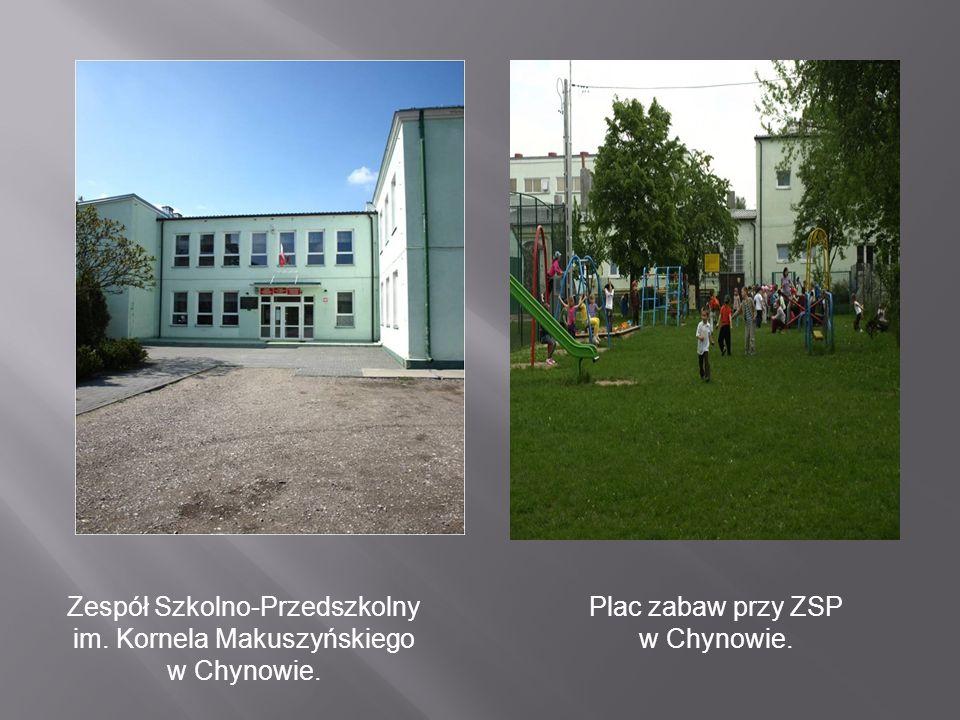Zespół Szkolno-Przedszkolny im. Kornela Makuszyńskiego w Chynowie.