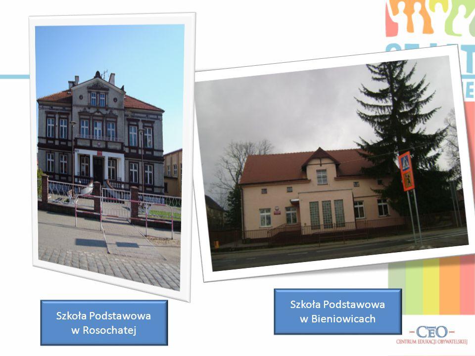 Szkoła Podstawowa w Bieniowicach Szkoła Podstawowa w Rosochatej