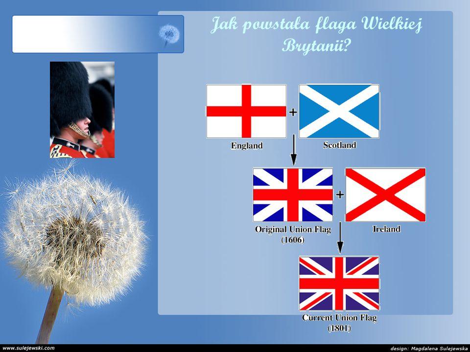 Jak powstała flaga Wielkiej Brytanii