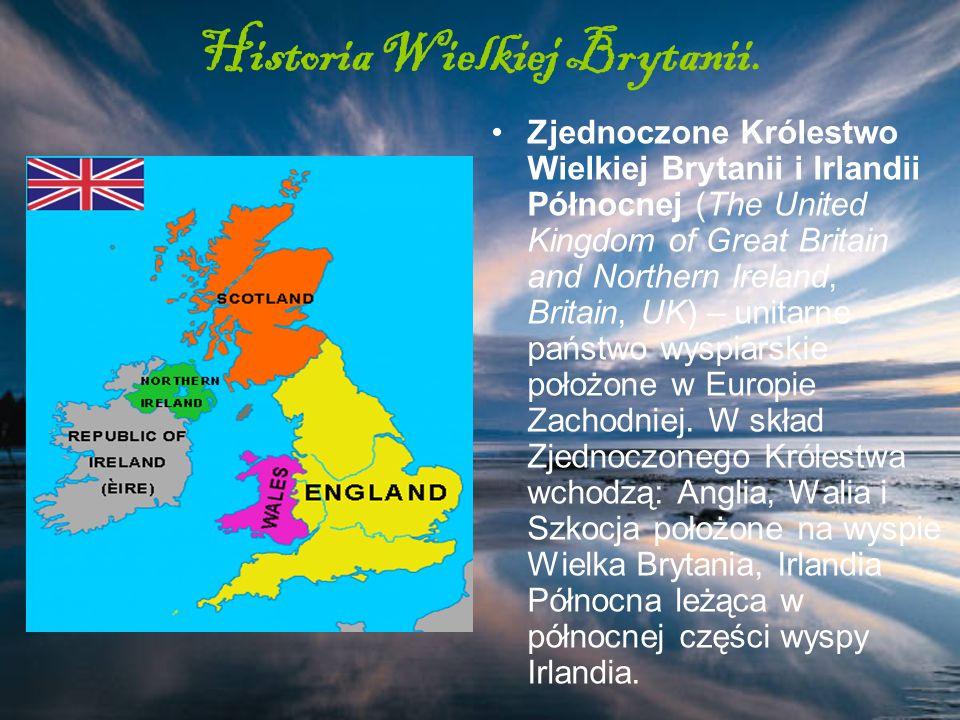 Historia Wielkiej Brytanii.