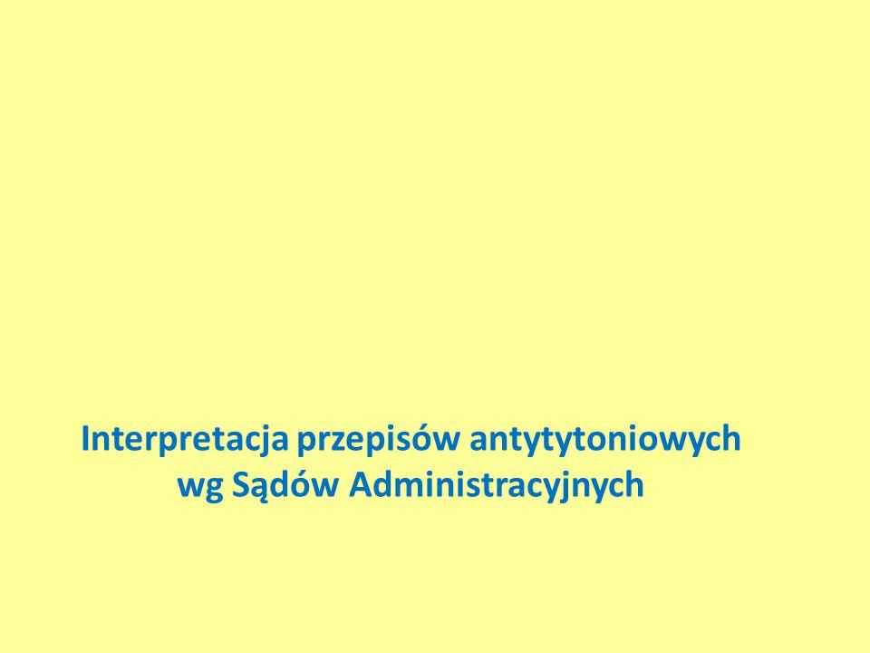 Interpretacja przepisów antytytoniowych wg Sądów Administracyjnych