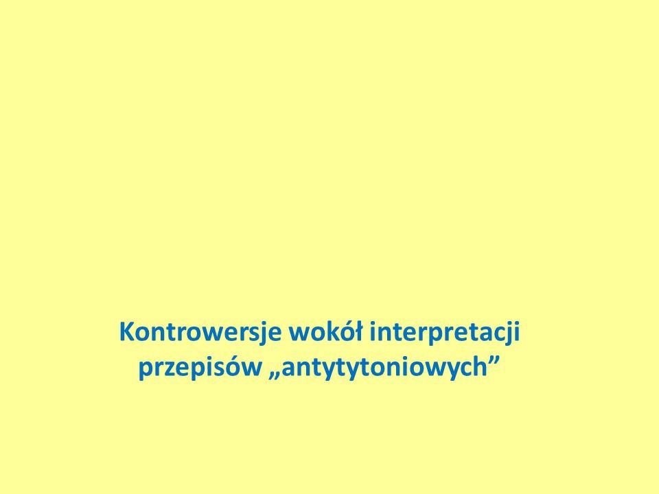 """Kontrowersje wokół interpretacji przepisów """"antytytoniowych"""