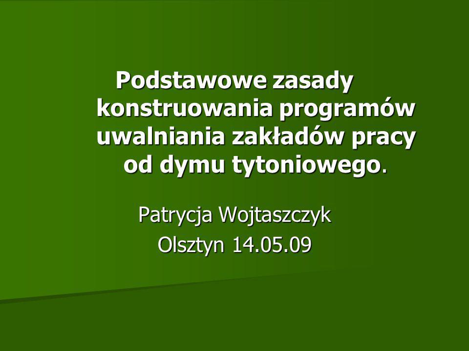 Patrycja Wojtaszczyk Olsztyn 14.05.09