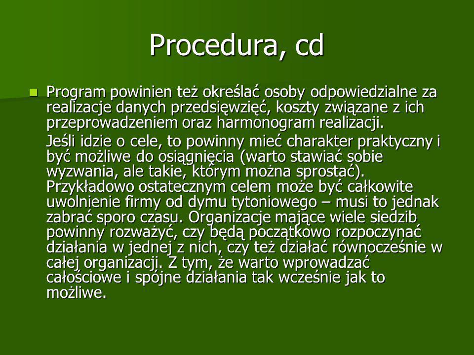Procedura, cd