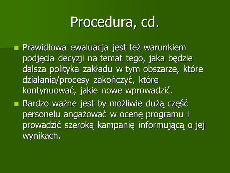 Procedura, cd.