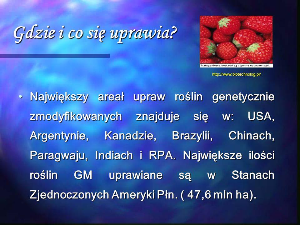 Gdzie i co się uprawia http://www.biotechnolog.pl/