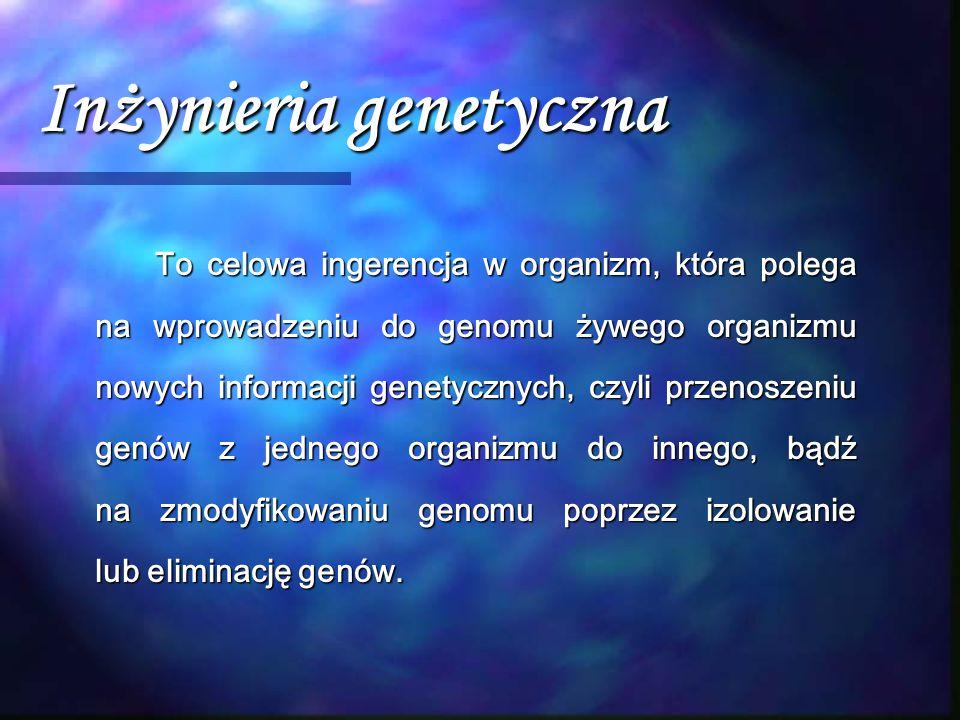 Inżynieria genetyczna