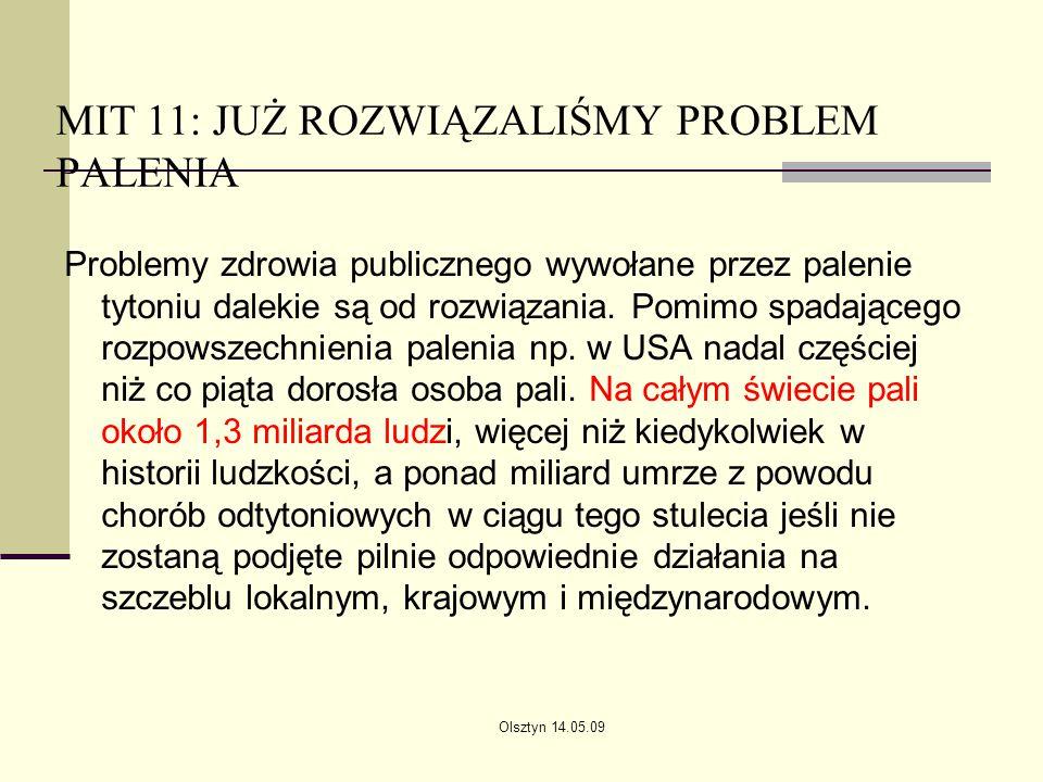 MIT 11: JUŻ ROZWIĄZALIŚMY PROBLEM PALENIA