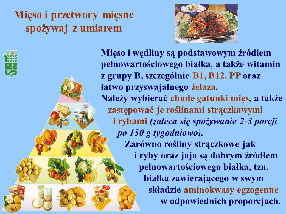 Mięso i przetwory mięsne spożywaj z umiarem