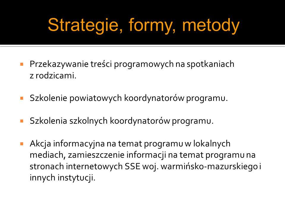 Strategie, formy, metody