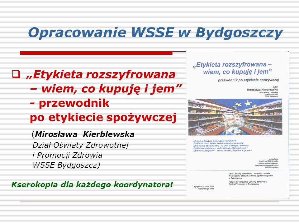 Opracowanie WSSE w Bydgoszczy