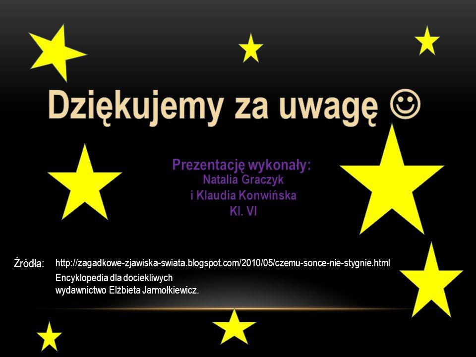 Prezentację wykonały: Natalia Graczyk i Klaudia Konwińska
