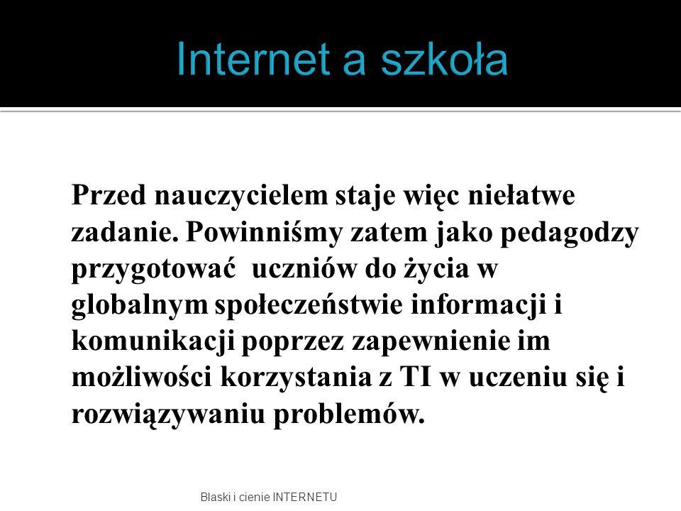 Internet a szkoła