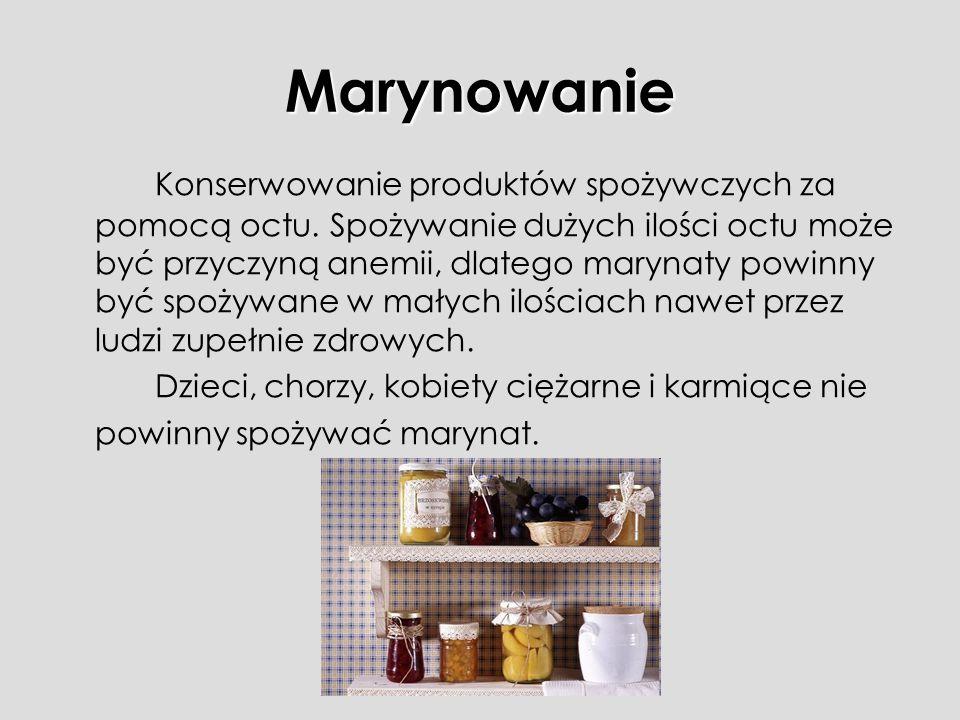 Marynowanie
