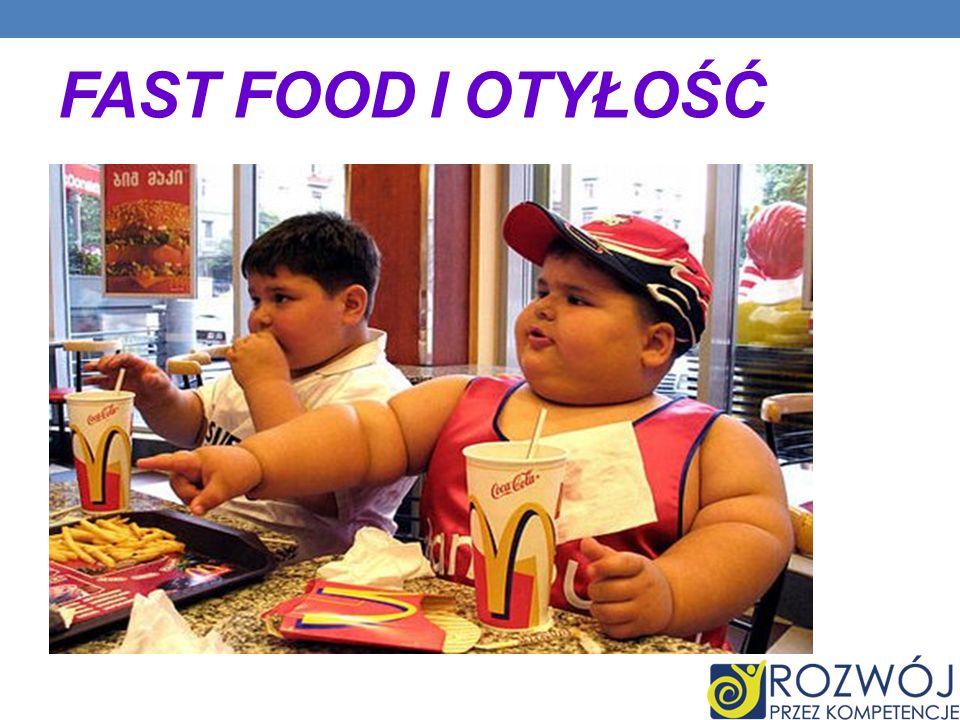 Fast food i otyłość