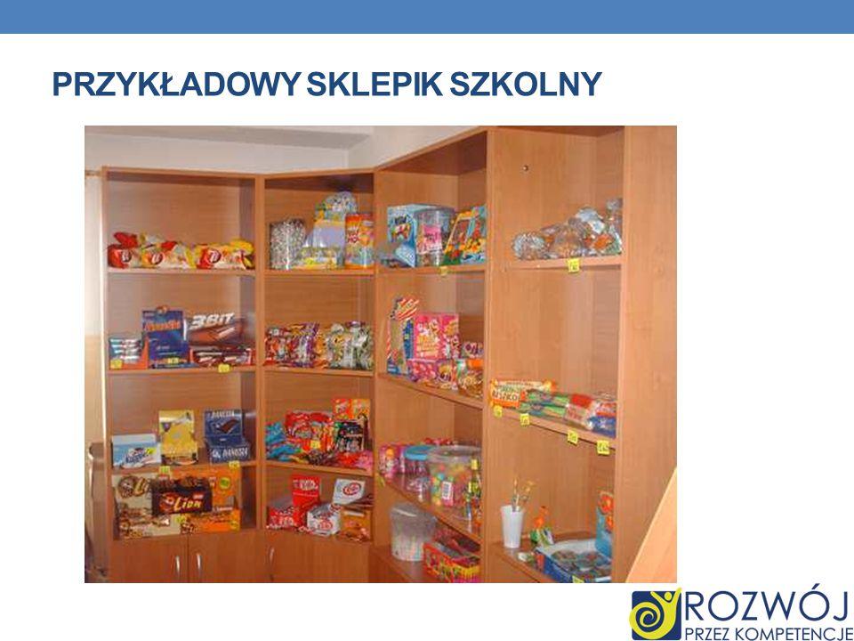 Przykładowy sklepik szkolny