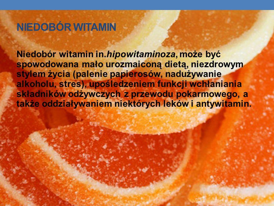 Niedobór witamin