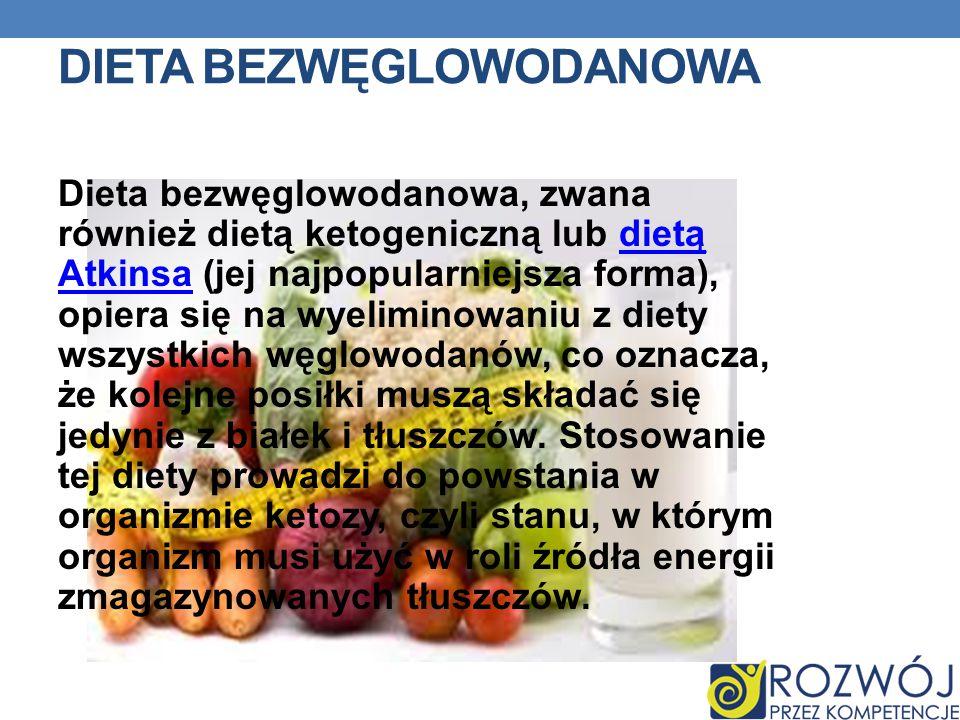 Dieta bezwęglowodanowa