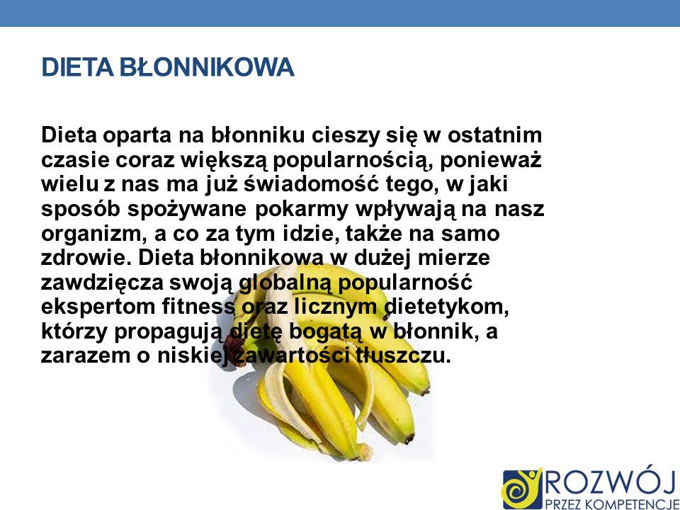 Dieta błonnikowa