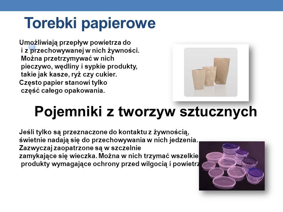 Torebki papierowe Umożliwiają przepływ powietrza do
