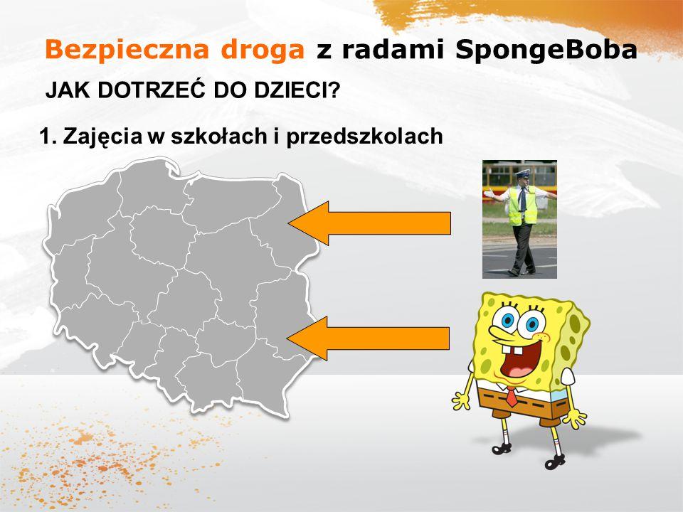Bezpieczna droga z radami SpongeBoba