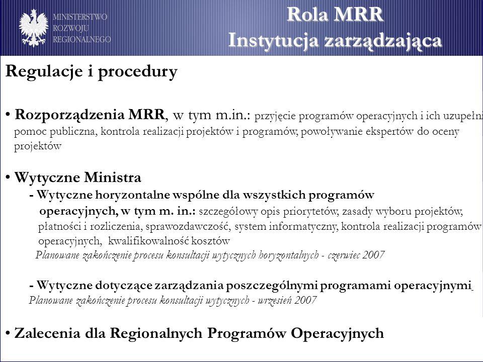 Instytucja zarządzająca
