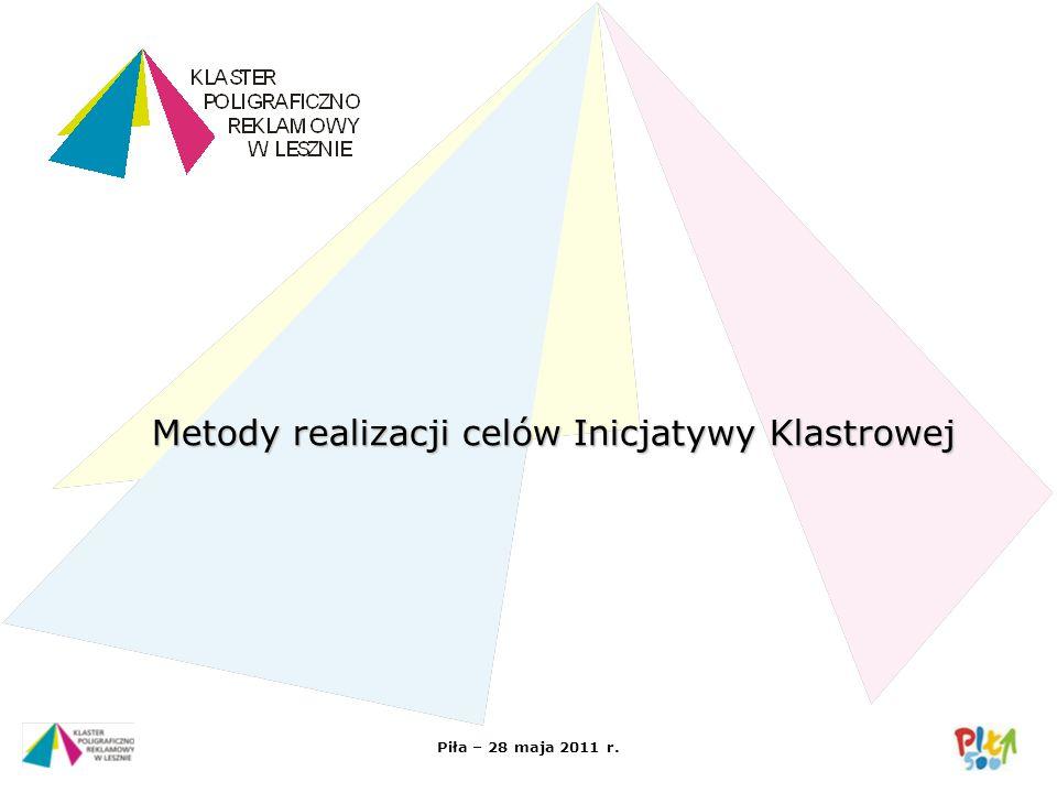 Metody realizacji celów Inicjatywy Klastrowej