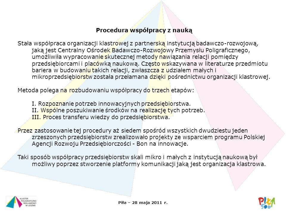 Procedura współpracy z nauką