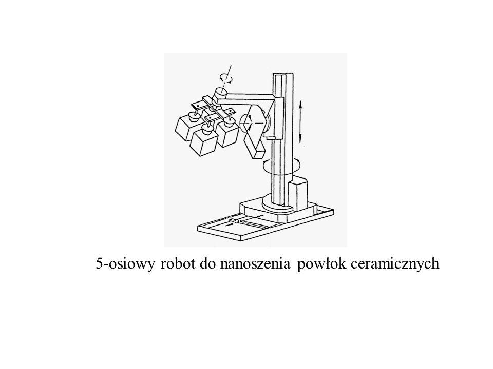 5-osiowy robot do nanoszenia powłok ceramicznych