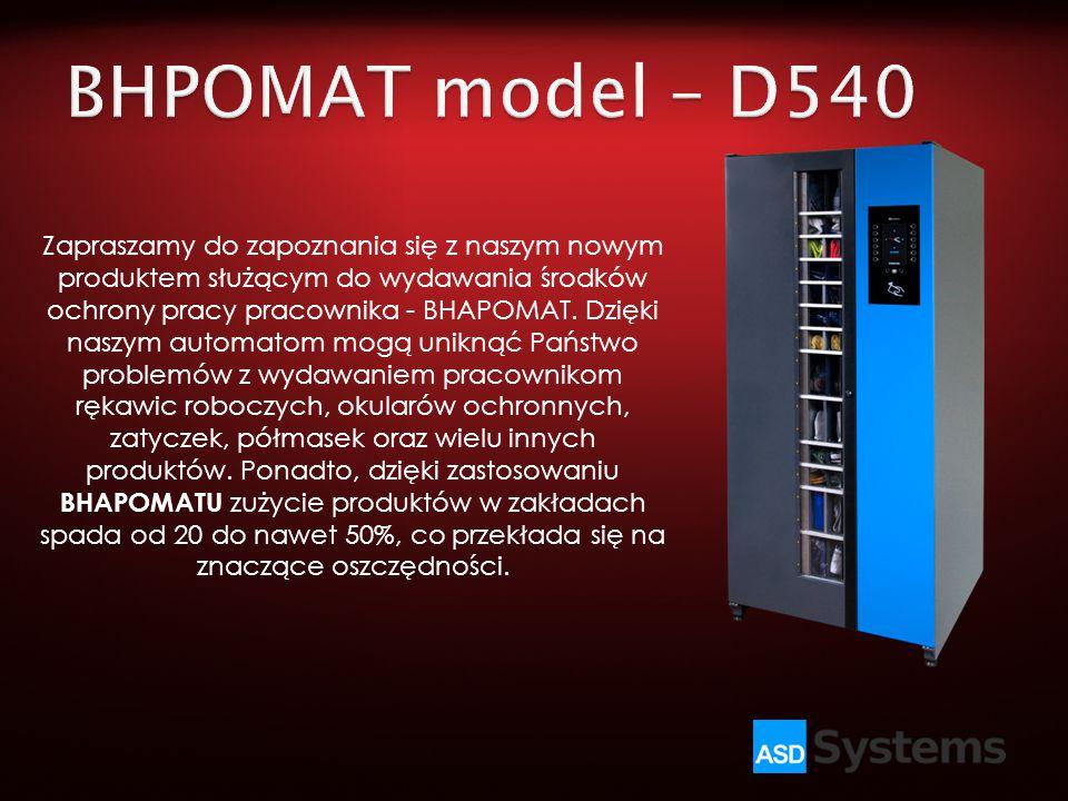BHPOMAT model – D540