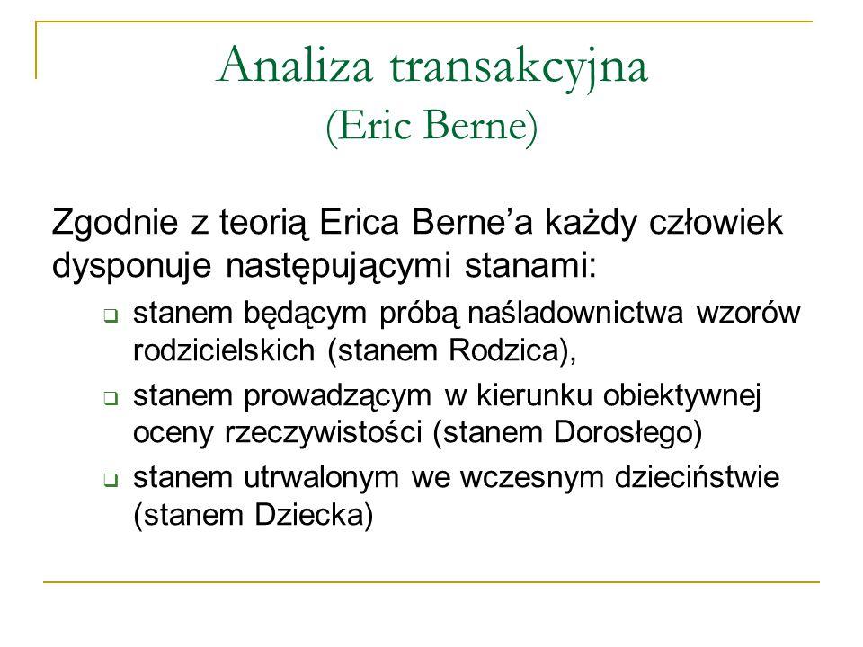 Analiza transakcyjna (Eric Berne)