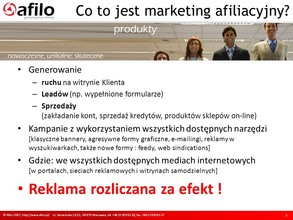 Co to jest marketing afiliacyjny