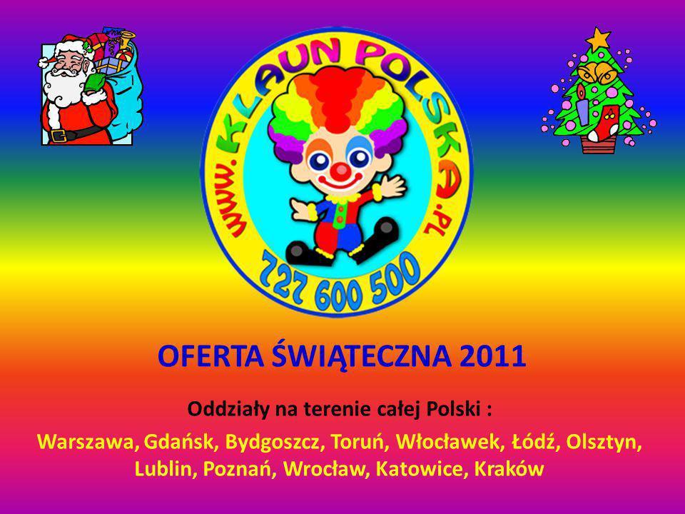 Oddziały na terenie całej Polski :