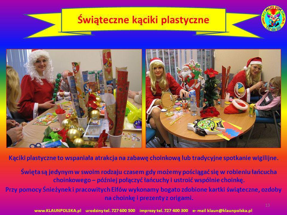 Świąteczne kąciki plastyczne