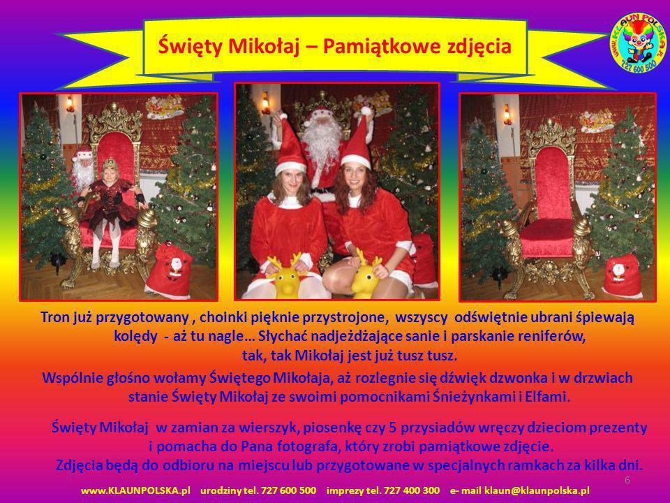 Święty Mikołaj – Pamiątkowe zdjęcia