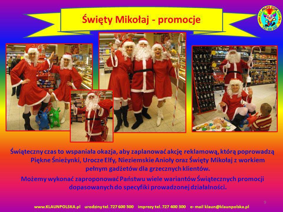 Święty Mikołaj - promocje