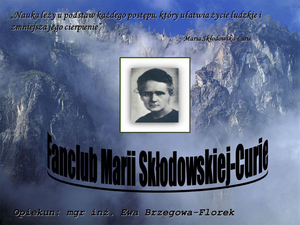 Fanclub Marii Skłodowskiej-Curie
