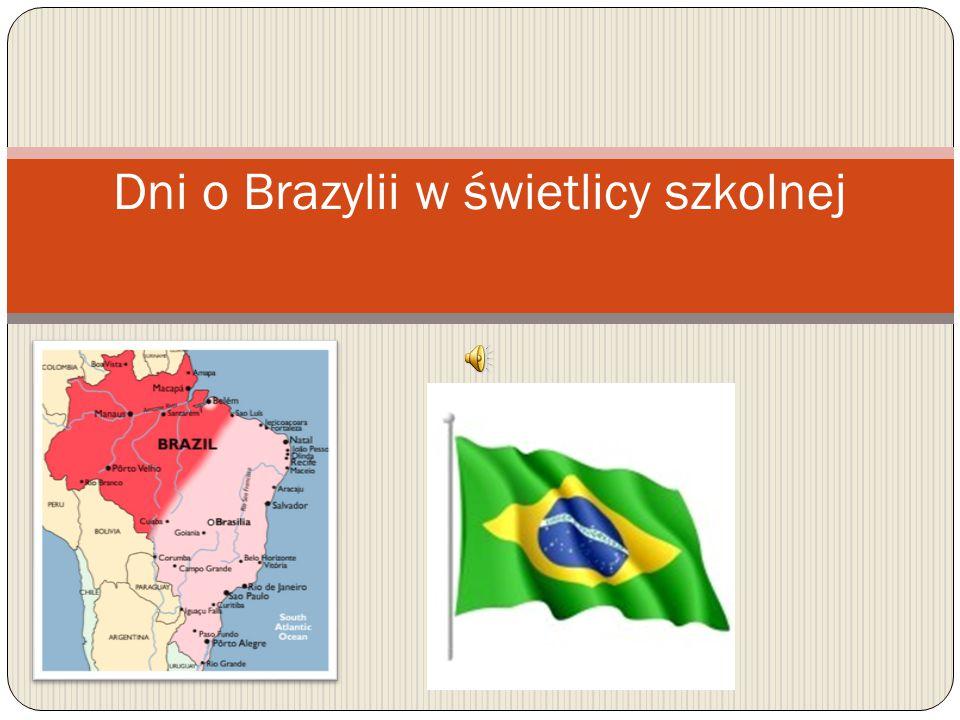 Dni o Brazylii w świetlicy szkolnej