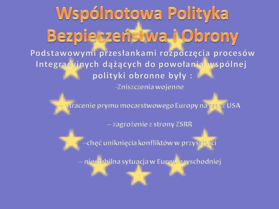 Wspólnotowa Polityka Bezpieczeństwa i Obrony