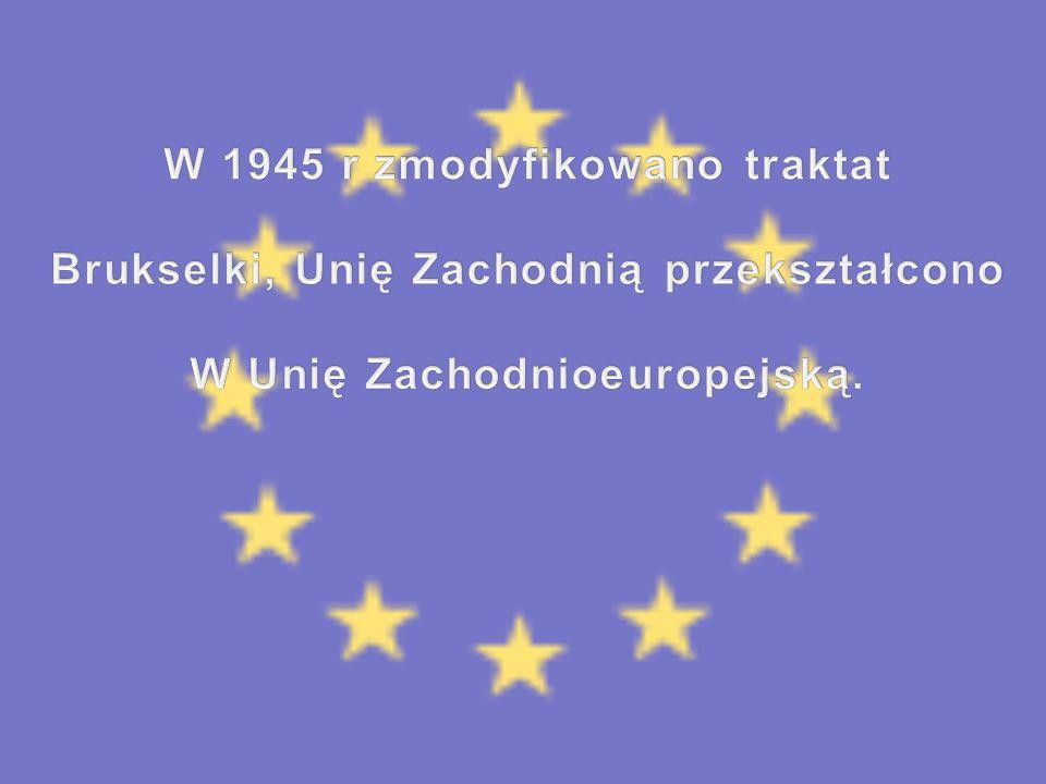 W 1945 r zmodyfikowano traktat