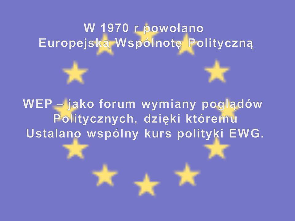 Europejską Wspólnotę Polityczną