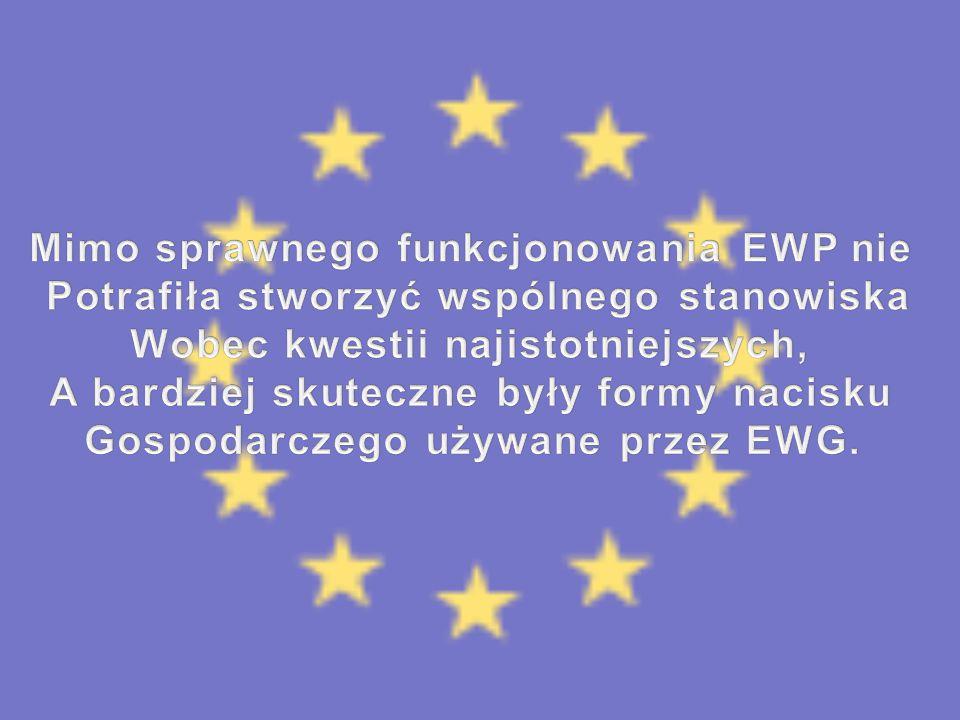 Mimo sprawnego funkcjonowania EWP nie