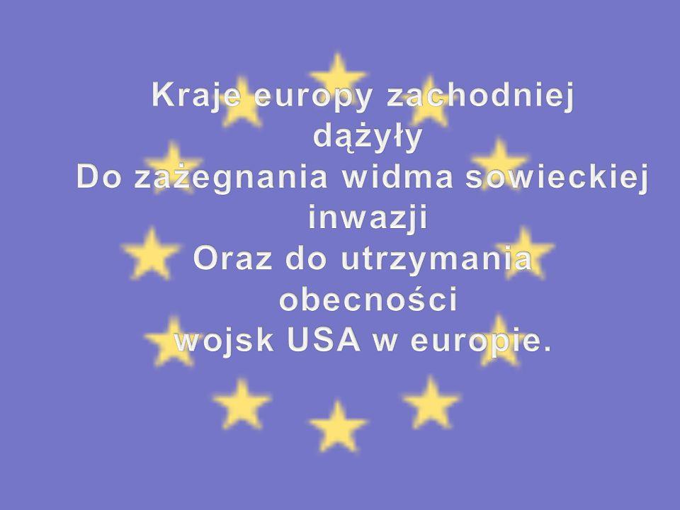 Kraje europy zachodniej Do zażegnania widma sowieckiej