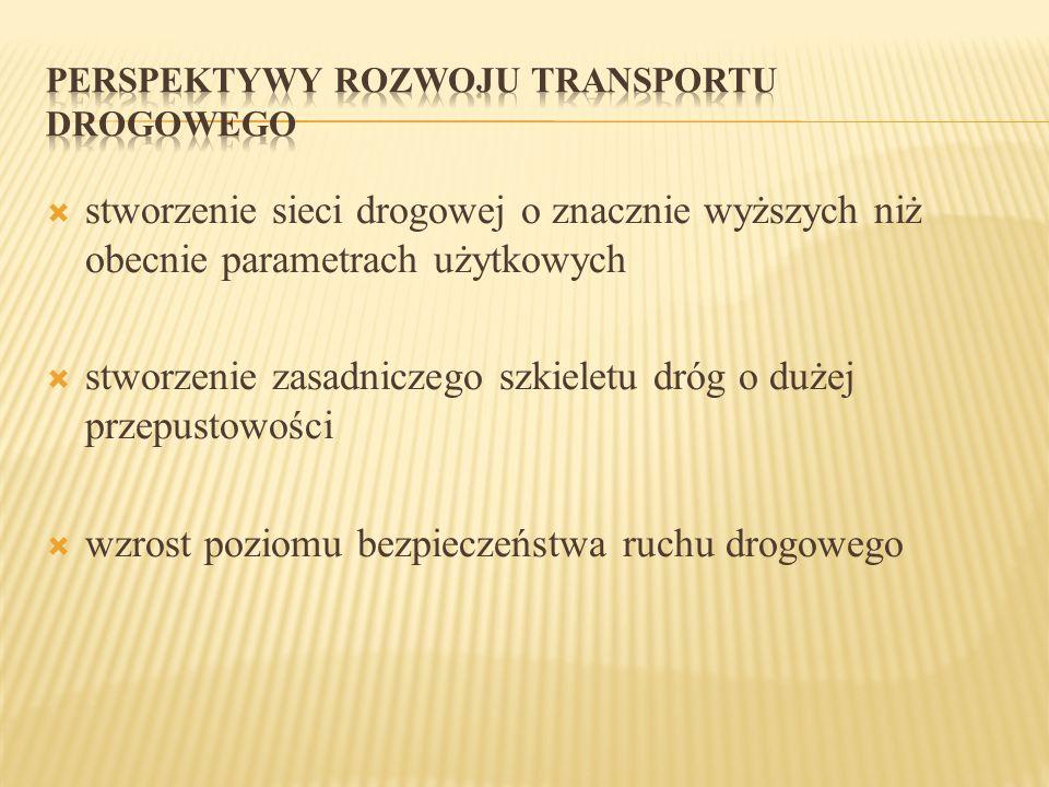 PERSPEKTYWY ROZWOJU TRANSPORTU DROGOWEGO