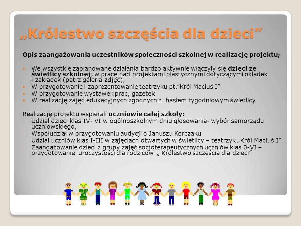 """""""Królestwo szczęścia dla dzieci"""